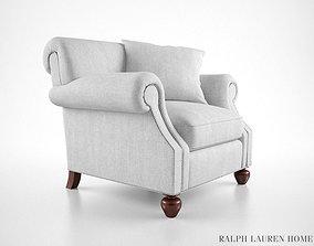 3D model Ralph Lauren Edwardian armchair