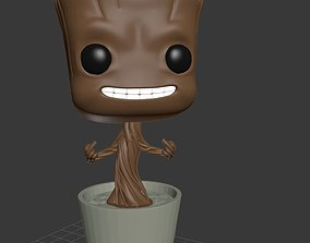 Gruu Plant Pot Vrs02 3D print model