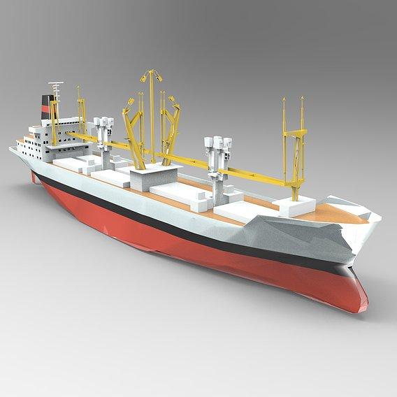Small MSC Monterey Ship