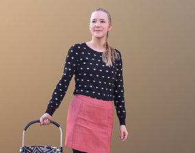 3D asset Anna 10547 - Shopping Casual Woman