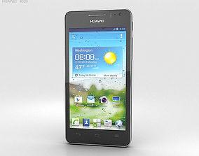 3D Huawei Ascend G600 Black