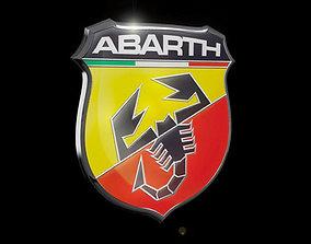3D model Abarth emblem