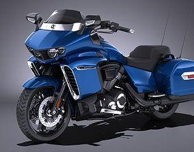 Yamaha Star Eluder 2018 3D model