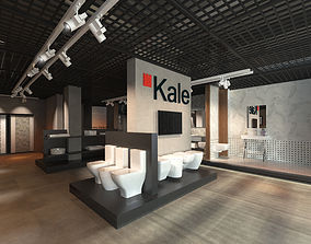 Showroom 3D Interior Scene