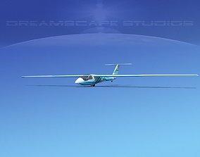 SZD-36 Cobra Glider V04 3D asset