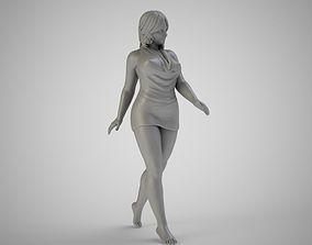 3D print model Woman Walking