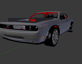2012 Dodge Challenger SRT8 SRT Demon Concept 3D model