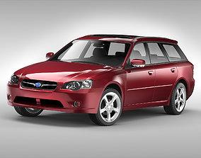 Subaru Legacy Wagon 2003 - 2009 3D model