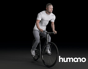 Humano Biking Man 0715 3D