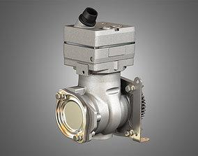 3D Air Brake Compressor - One Piston - DD5 Diesel Engine