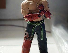 3D print model Jin Kazama Tekken fan-art statue