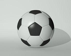 3D model defender Football