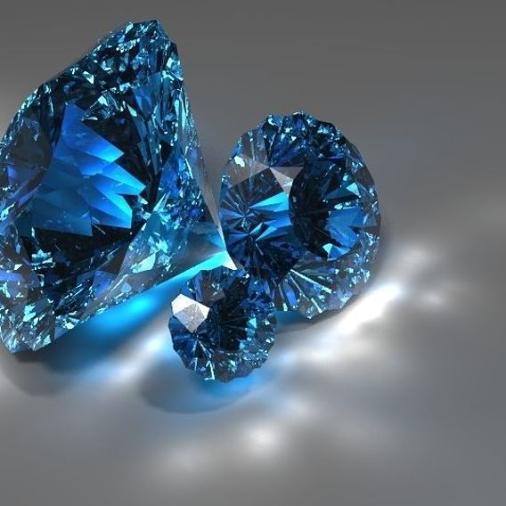 Diamonds and caustics