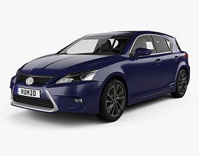 3D model Lexus CT Hybrid Prestige 2018