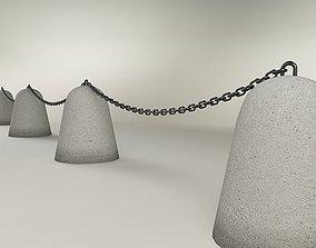 3D barriers Traffic restriction barrier