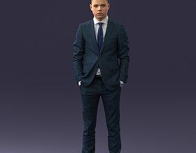3D model Office man 1012