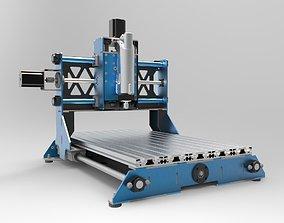 3D asset Cnc Machine