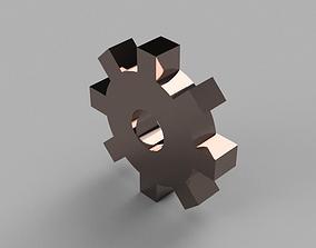 Simple Gear 3D model