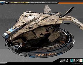 RTS Dropship - 06 3D asset