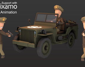 WW2 Us Commander 3D model