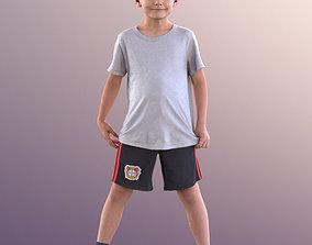 3D model 10910 Thilo - Little Boy Standing With Legs Apart