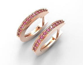 hoop earrings 3D print model