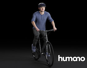 Humano Biking Man 0819 3D model