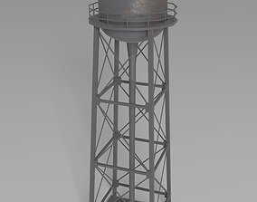 game 3D asset realtime Water Tower
