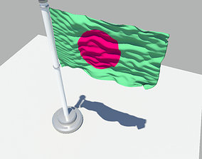 3D Bangladesh Flag