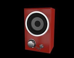 Loudspeaker musical 3D model
