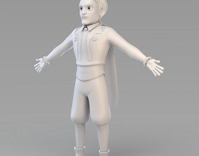 Cartoon Prince 02 3D model