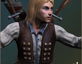 3D model Adam Adventurer