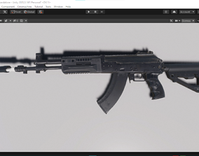 AK 15 FOR UNITY HDRP 3D model
