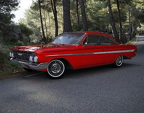 Chevrolet Impala 1961 3D model