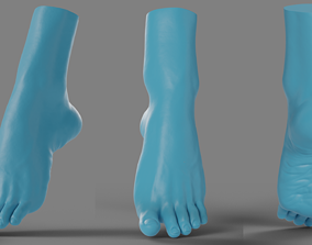 3D printable model Woman foot
