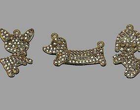 3D print model Animal Gold Pendant