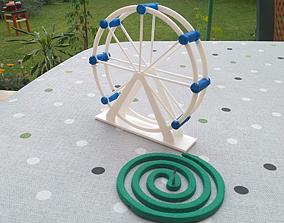 London eye mosquito coil holder 3D printable model