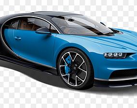 Bugatti Chiron vehicle 3D model