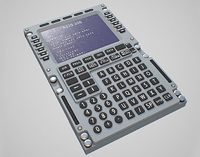 Multipurpose Control and Display Unit 3D asset