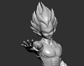 Vejita Fan Art for 3DPrint