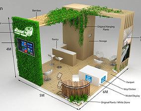 Exhibition Stand Al Barari 6x5m 30sqm 3D