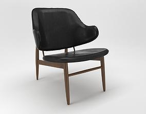 comfort 3D model easy chair