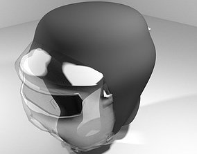 3D Martial-Art Headguard Type 5