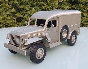 Dodge WC54 - scale model kit FDM