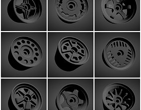 300 Classic rims with Brakes and tires for Hot 3D