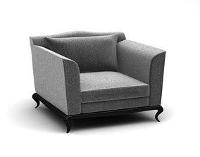 Chair Confidence for interior 3D model