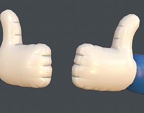 3D asset Like model PBR Game Ready