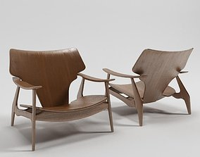 Diz armchair by Sergio Rodrigues 3D