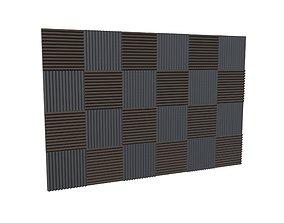 3D asset Soundproof Panel v1 001