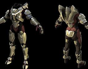 Halo 5 Guardians Hellioskrill Armor 3D printable model